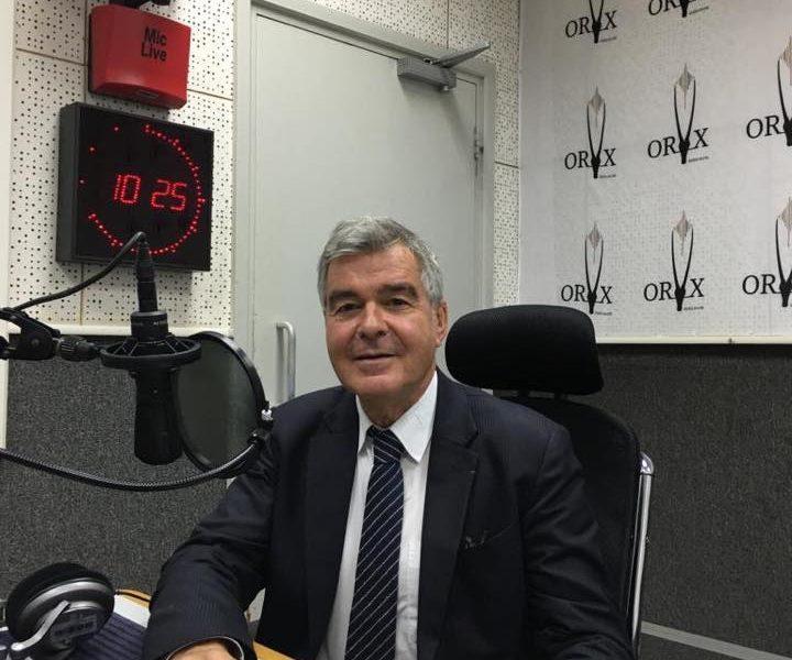 Interview sur ORYX FM de Mr. Lionel LEVHA Président de la Maison de la France
