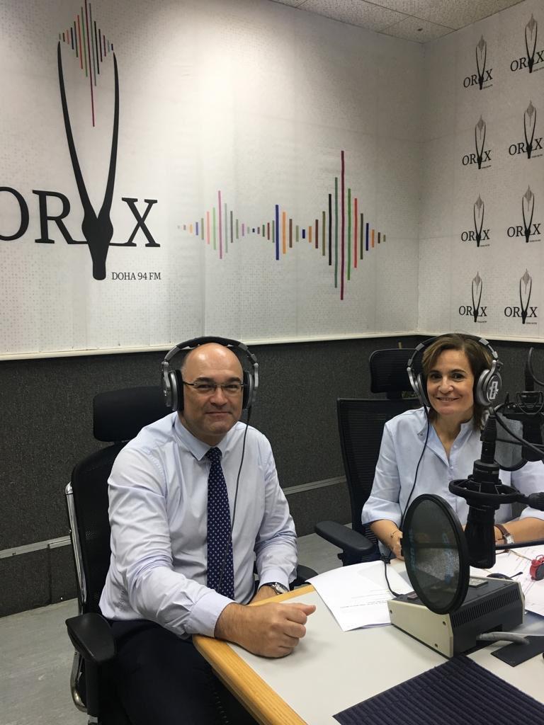 Interview sur ORYX FM de Thierry Dezenclos FT4S